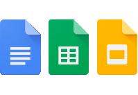 Google ドキュメント・スプレッドシート・スライド